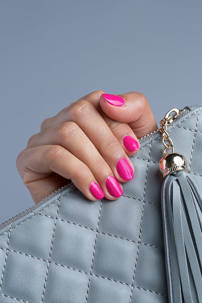 To find your perfect formula, look for polish with rich color payoff and an ultrasmooth, ultraglossy finish with serious staying power. Be sure to complete your manicure with a longwear nail enamel that gives your nails that extra shiny pop. When the weekend comes, live it up in a vivid pink shade that works equally well with fancy dresses or casual jeans.