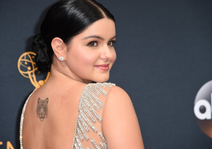 Celebrity Tattoos From Award Show Red Carpet Popsugar Beauty