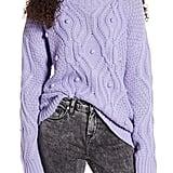 Cotton Emporium Textured Cable Sweater