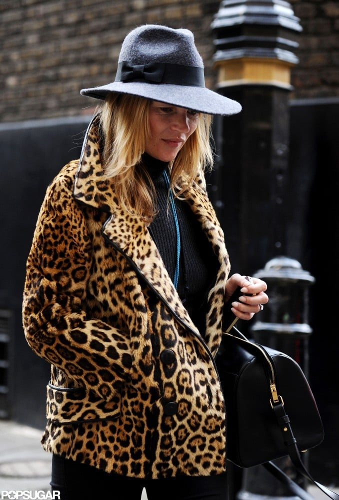 Kate Moss wore a trilby.