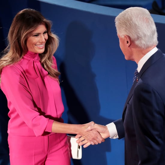 Why Didn't Bill Clinton and Melania Trump Shake Hands?
