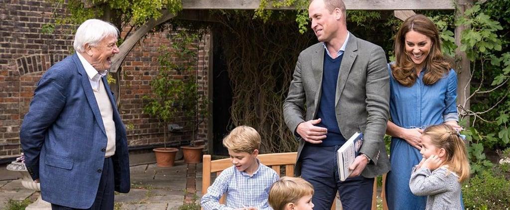 Prince William, Kate Middleton's Kids Met David Attenborough