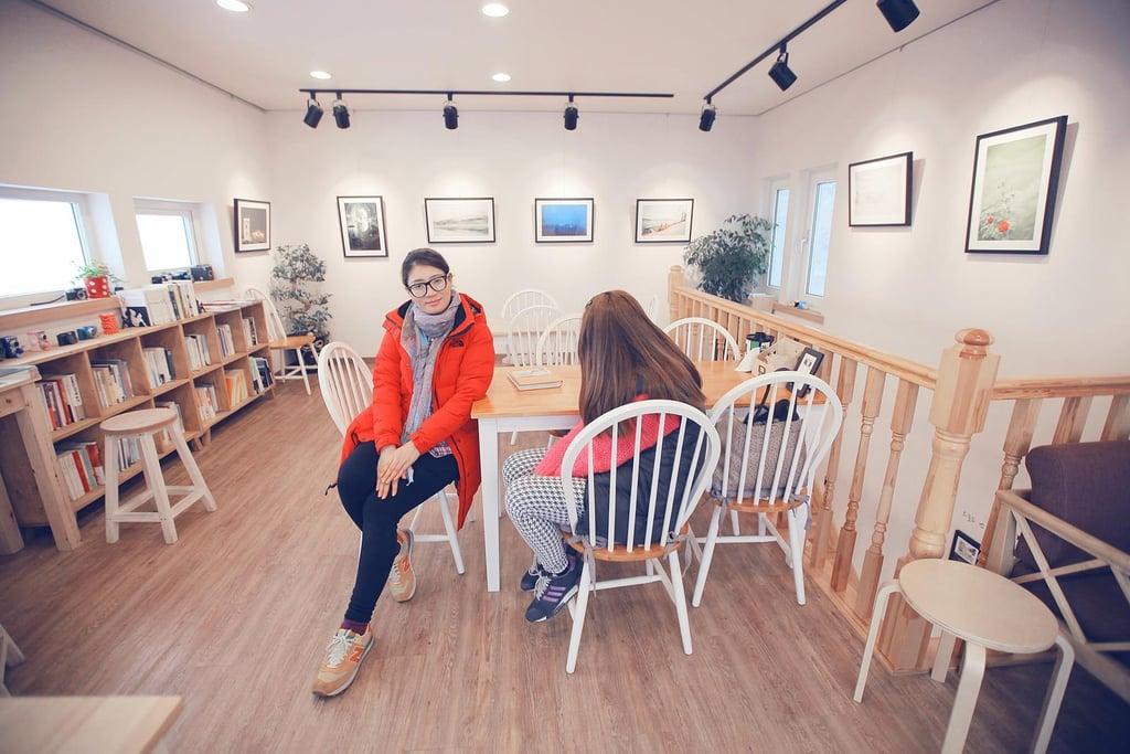 The Cafe's Upper-Level Interior