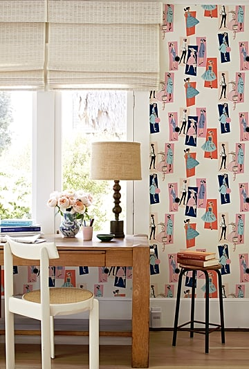 Shop the Barbie Wallpaper Line in Collaboration With Mattel
