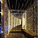 Christmas Outdoor Curtain String Lights