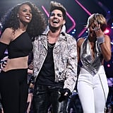 Kelly Rowland, Adam Lambert, and Keri Hilson performed a tribute to Donna Summer.