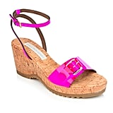 Stella's low wedge makes these suitable for a day to night transition.  Stella McCartney Linda cork shoes (£263)