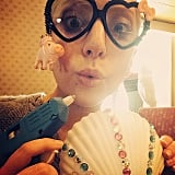 Lady Gaga goes craft crazy in Tokyo, Japan. Source: Instagram user ladygaga
