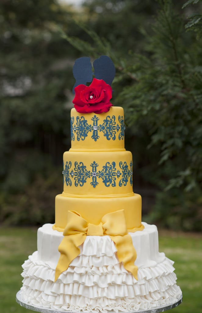 Beauty and the Beast | Disney Wedding Cake Ideas | POPSUGAR Food ...