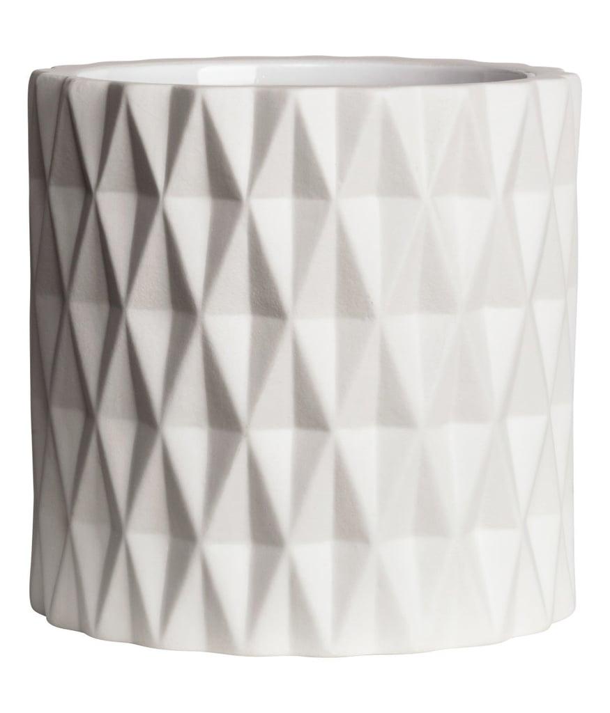 H&M Textured Plant Pot
