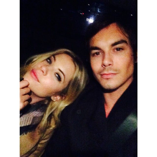 how long have ashley benson and tyler blackburn been dating