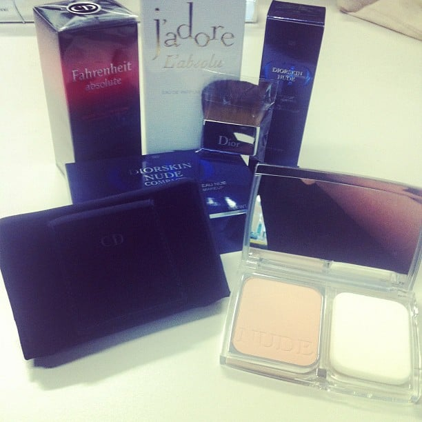Alison got a very special delivery! We're loving the new Nude range by Dior.