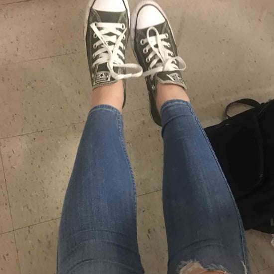 Girl Broke School Dress Code by Having a Hole in Her Jeans