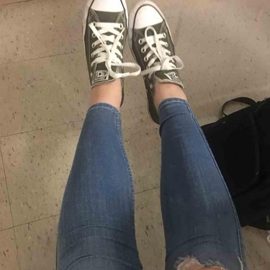 Girl Broke School Dress Code by Having a Hole in Her Jeans