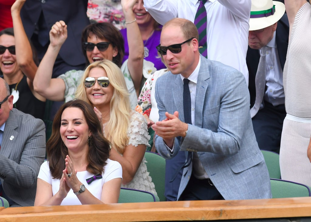 The Celebrity Attendance at Wimbledon This Year Was Ace