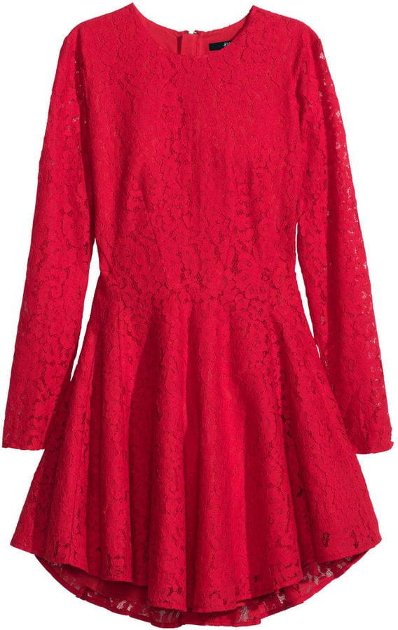 H&M Lace Circle Dress
