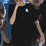 Angelina Jolie made a visit to the Al Zaatari refugee camp in Jordan.