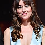 Dakota Johnson With Eye-Grazing Bangs