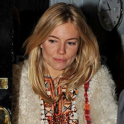 Sienna Miller Without Tom Sturridge Leaving Flare Path Pictures