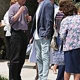 Ben Affleck and Jennifer Garner at Church on Easter 2019