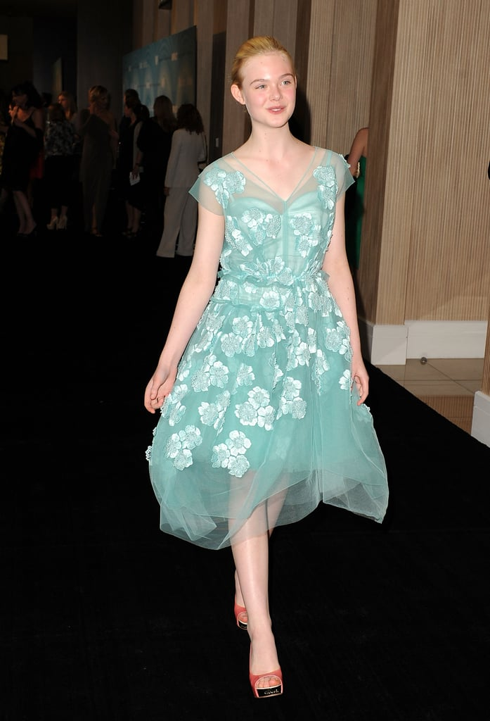 Pictures of Elle Fanning in Marc Jacobs at the 2011 Women ...