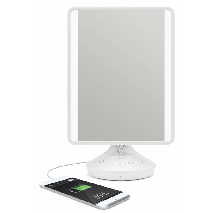 Ihome Reflect Adjustable Vanity Mirror With Bluetooth