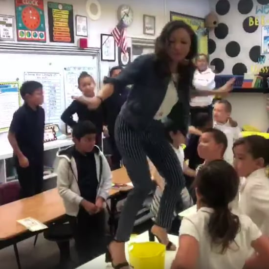 Teacher Uses Lizzo Song to Teach Students to Be Great Video