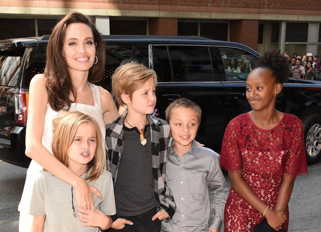 Angelina Jolie With Her Kids at Toronto Film Festival 2017
