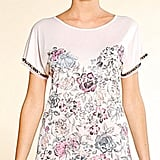 MNG by Mango Floral Print Tee ($27)