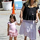 Sarah Michelle Gellar and Charlotte Prinze went to ballet class together in LA Saturday.