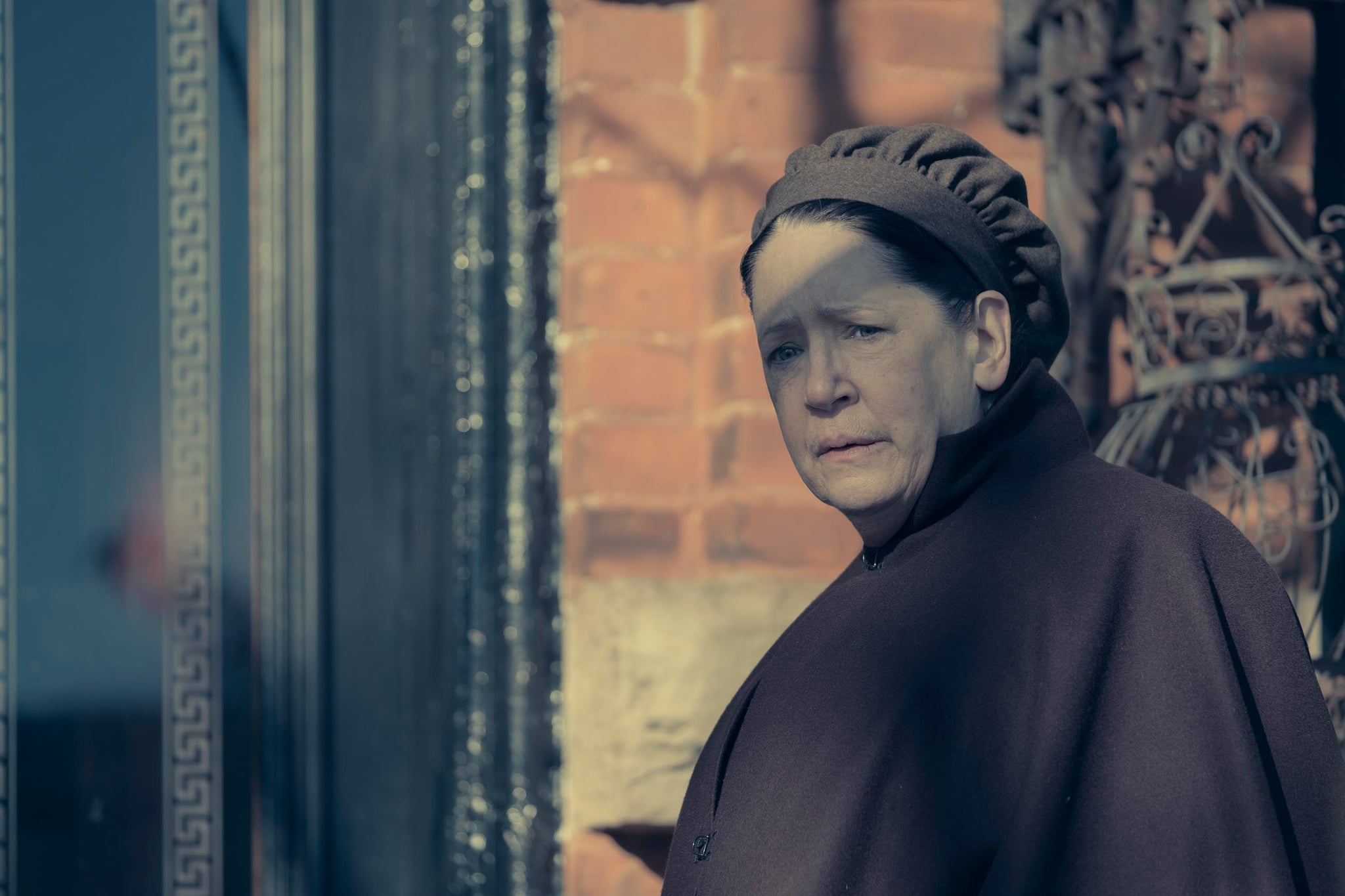THE HANDMAID'S TALE, Ann Dowd in 'Postpartum' (Season 2, Episode 12, aired July 4, 2018). ph: George Kraychyk/ Hulu/courtesy Everett Collection