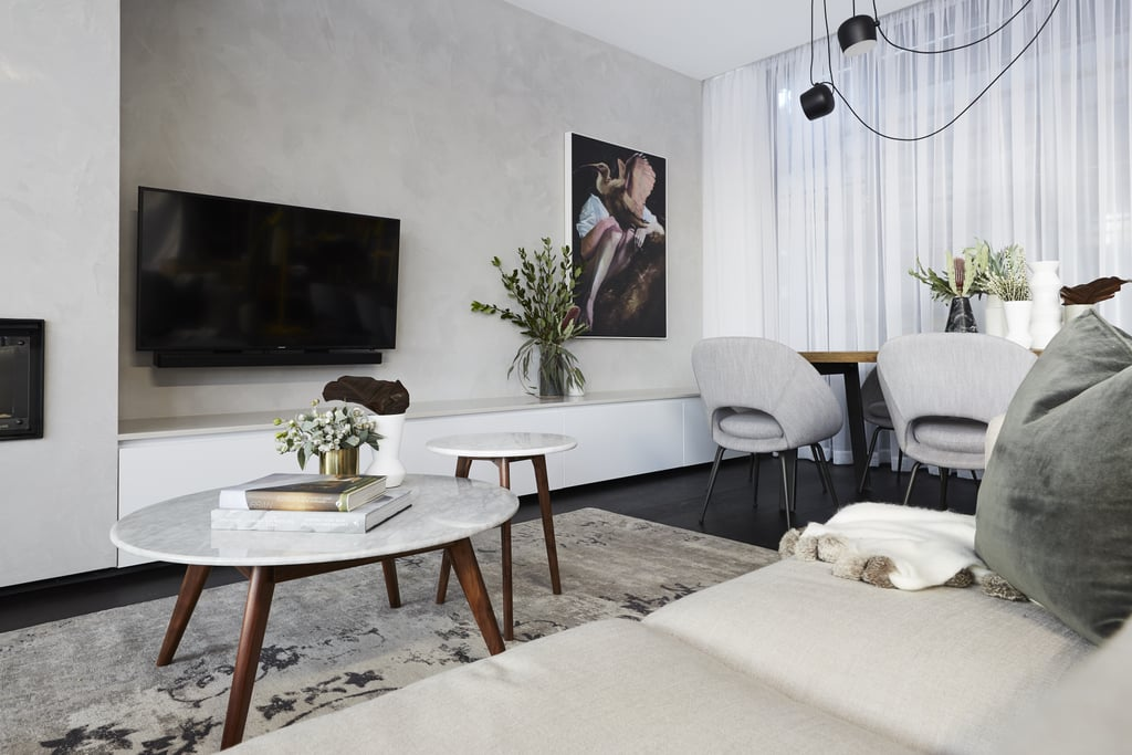 The block 2017 lounge and dining room photos popsugar for Living room channel 7