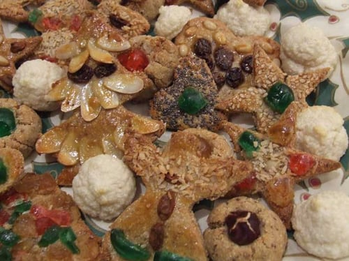 Christmas - Sour Cream Cookie cutter Cookies with Stevia (Sugar + Gluten free)