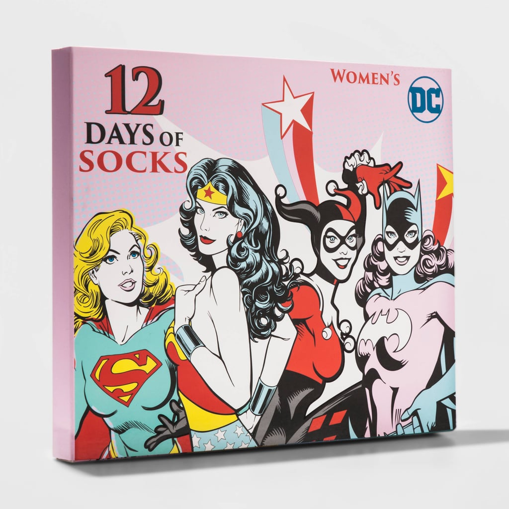 Women's DC Comics 12 Days of Socks Set
