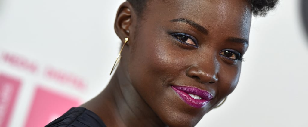 Like You, Lupita Nyong'o Laughs at Her Hairstyle from High School