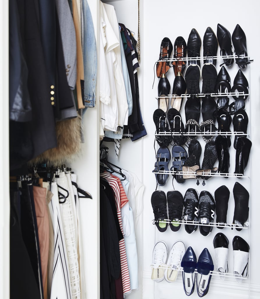 """""""I like to colour coordinate my wardrobe — I know that's a bit funny — but I go from darks to lights, keeping jackets, skirts, pants all together. And basics together."""""""