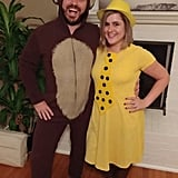 The Man With the Yellow Hat and Curious George