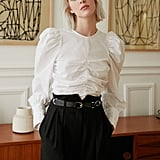 Steal: Pixie Market Puffy Sleeve Crop Shirt