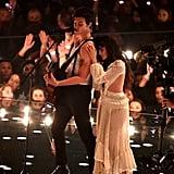 Camila Cabello and Shawn Mendes at the 2019 MTV VMAs