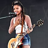Halle Bailey in Hair Accessories