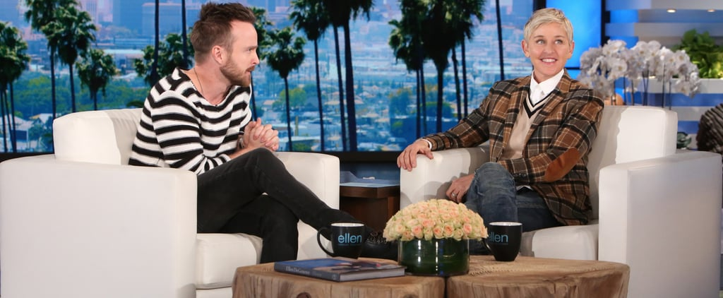 Aaron Paul Reveals How He Pulled Off His Wife's Sweet Birthday Surprise
