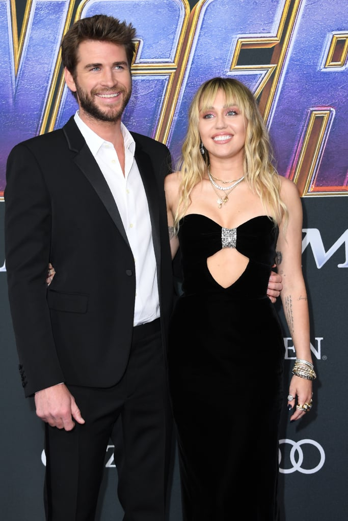 The duo supported Liam's brother Chris at the LA premiere of Avengers: Endgame in April 2019.