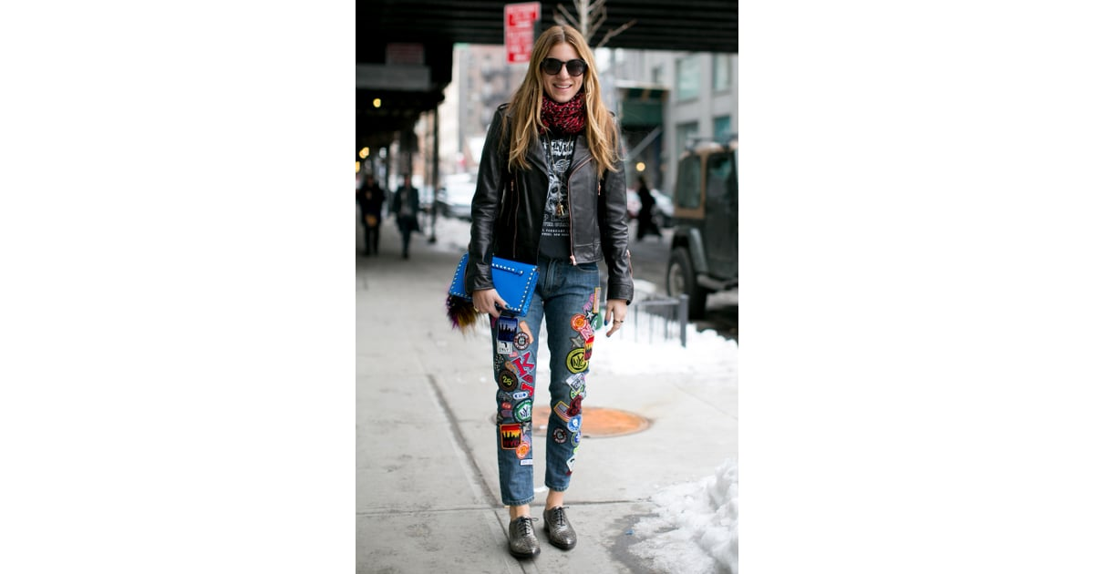Nyfw Street Style Day 4 Best Street Style At New York Fashion Week Fall 2014 Popsugar