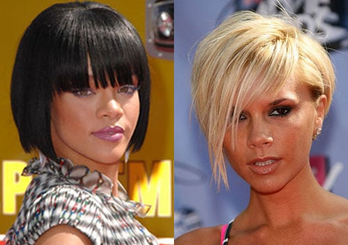 MTV Movie Awards Beauty Poll: Whose Haircut is More Daring: Posh or Rihanna?