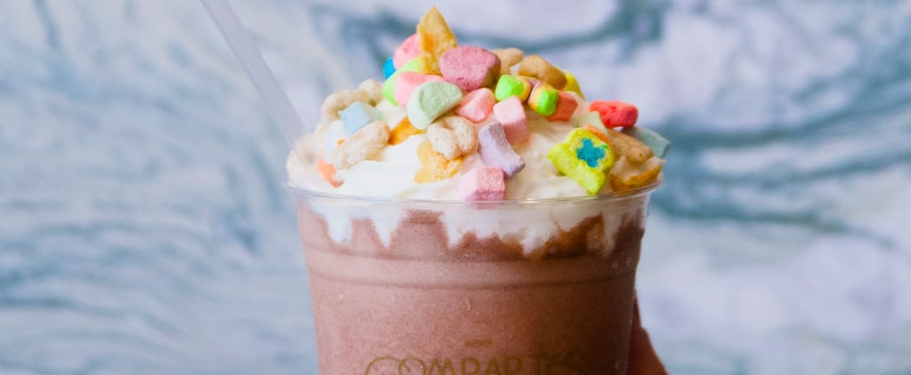 We're Actually Drooling Over This Chocolatier's Crazy-Topped Frozen Hot Cocoa