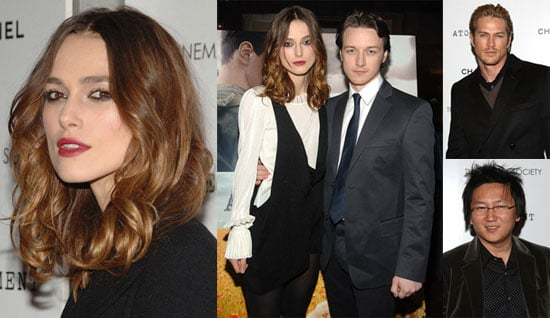 No Smiles For Keira and James at Atonement Premiere