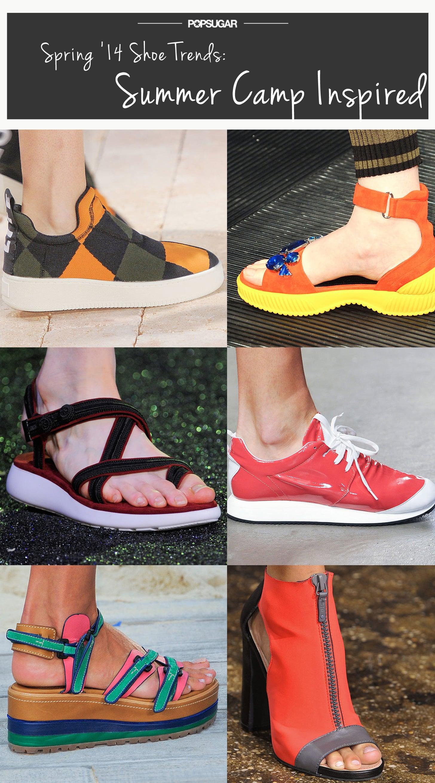Spring Shoe Trend #5: Summer Camp