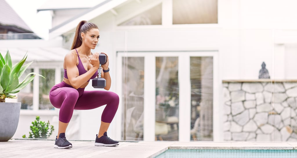 Kelsey Wells 15-Minute Lower-Body Dumbbell Strength Workout