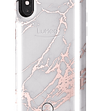 LuMee Duo Metallic Marble Case