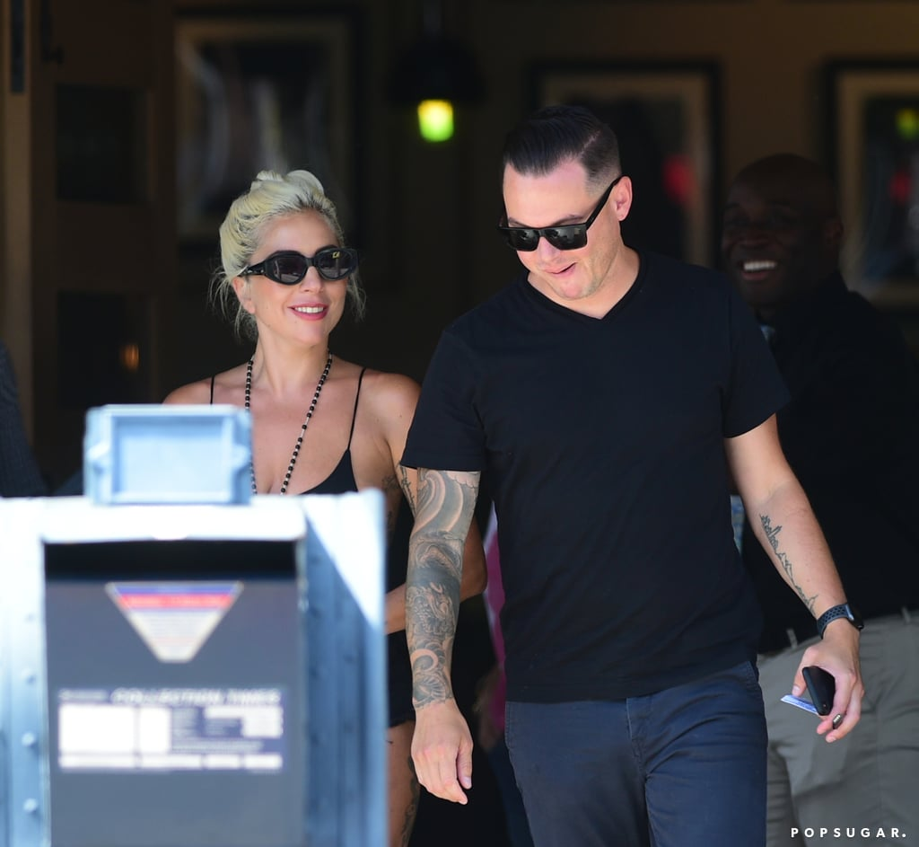 """It looks like Lady Gaga may have a new man in her life! On Sunday, the 33-year-old singer was photographed kissing her audio engineer Dan Horton, five months after ending her engagement to Christian Carino. Gaga was shown planting multiple kisses on Dan during a brunch date in Studio City, CA.  According to nearby onlookers, Gaga """"seemed confident and in a good place"""" and """"looked amazing"""" in black shorts and a matching tank. """"They were kissing as they spoke really close up,"""" another source told People. """"Ironically, she had a table in the front near the sidewalk, so she was clearly okay with being seen. She seemed very happy when interacting with the guy she was with.""""      Related:                                                                                                           6 Men Who Wanted Lady Gaga's Bad Romance               While we still don't know much about the status of their relationship, according to Dan's LinkedIn page, he's worked as a monitor engineer for Gaga since November 2018. He's also worked with Camila Cabello, Ariana Grande, Bruno Mars, Luis Miguel, KISS, Justin Timberlake, and JAY-Z and has a degree in business entrepreneurship from San Francisco State University. Wow, that's a pretty impressive résumé.  As for his love life, Dan was previously married to actress Autumn Guzzardi. They tied the knot in 2013, but it's unclear when they split. Gaga, on the other hand, first got together with Christian in February 2017, but they called it quits this past February. According to People, things just didn't work out. I guess only time will tell what's really going on here."""